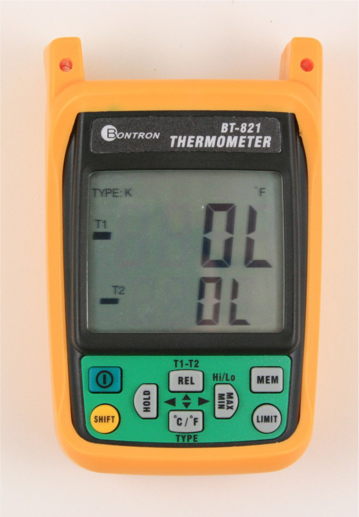 Digital Thermometers and Data Loggers
