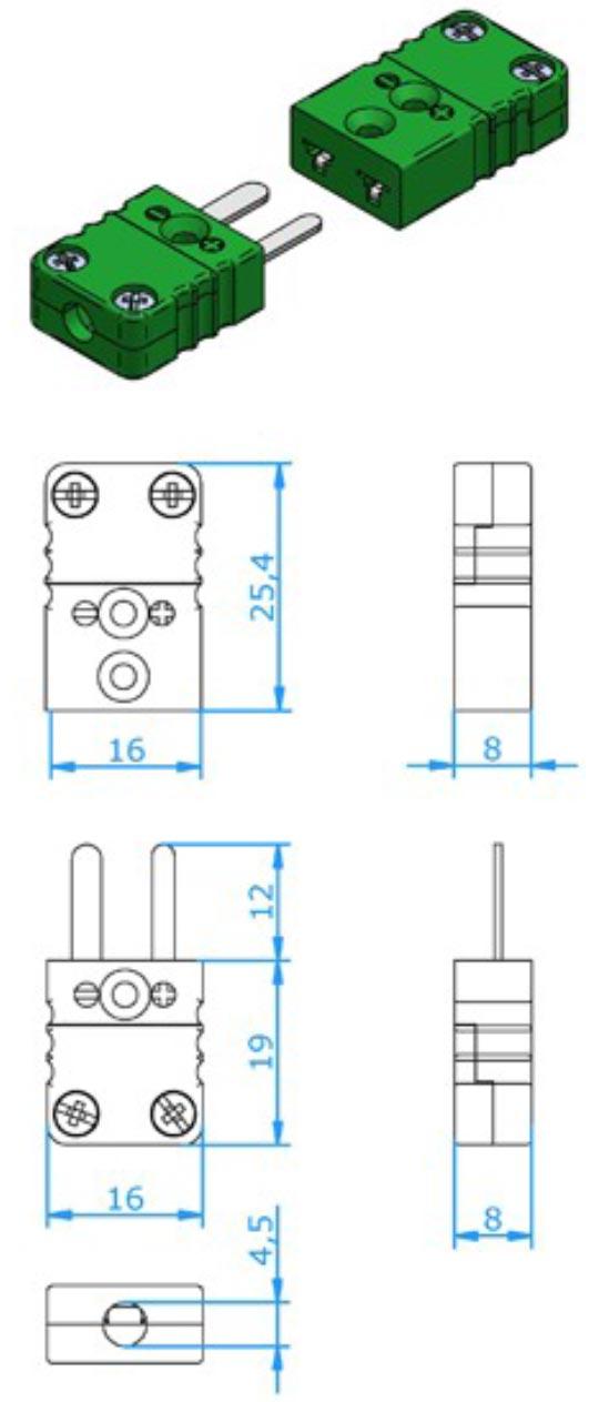 Hamitherm Connectors Mini Size Connectors