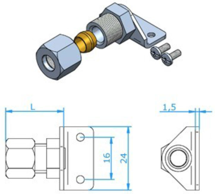 Hamitherm Connectors Standard Size Accessories